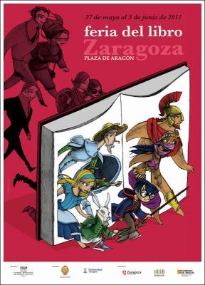 Feria del libro en Zaragoza