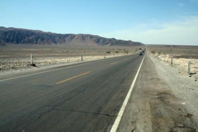 Conduciendo por las líneas de Nazca