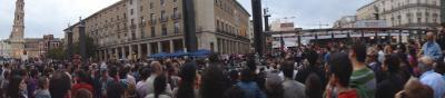 Zaragoza indignada